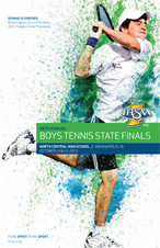 Boys Tennis State Tournament Program