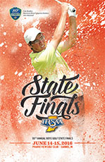 Football State Tournament Program