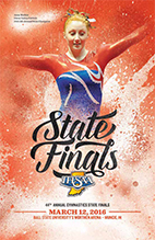 Gymnastics State Tournament Program