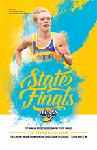 Boys Cross Country State Tournament Program