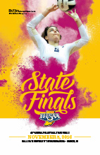 Volleyball State Tournament Program