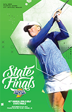 Girls Golf State Tournament Program