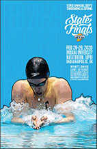 Boys Swimming and Diving State Tournament Program