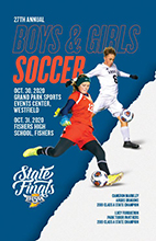Girls Soccer State Tournament Program