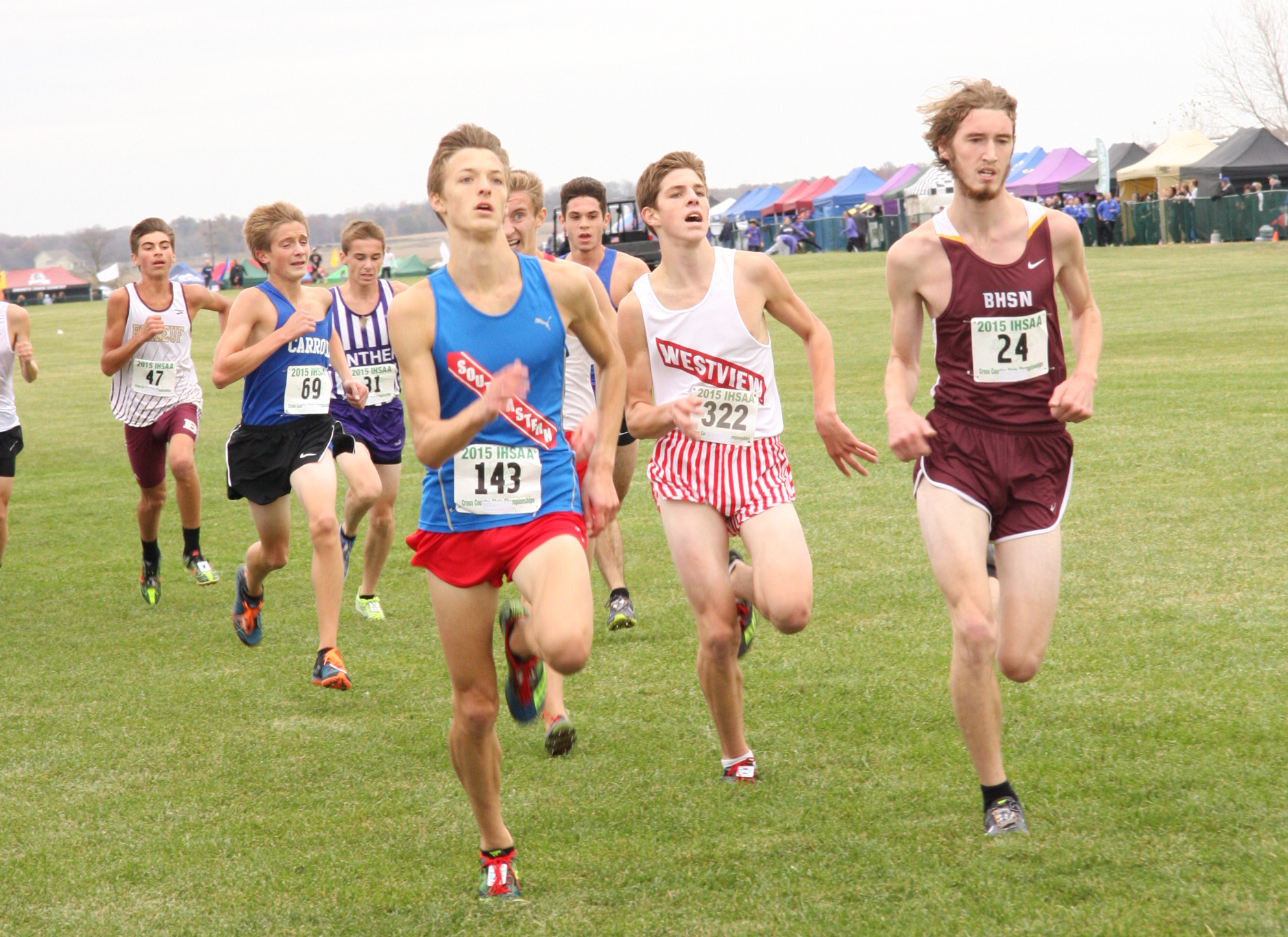 2014 illinois cross country state meet 2015